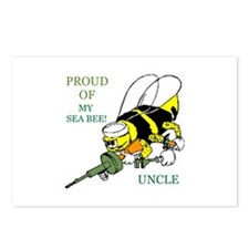seabee uncle Postcards (Package of 8)