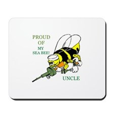 seabee uncle Mousepad