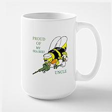 seabee uncle Large Mug