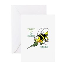 seabee uncle Greeting Card