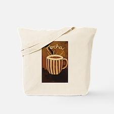 Mocha Coffee Mug Tote Bag