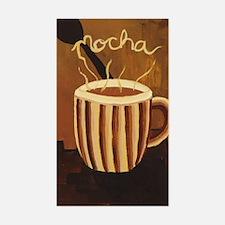 Mocha Coffee Mug Decal