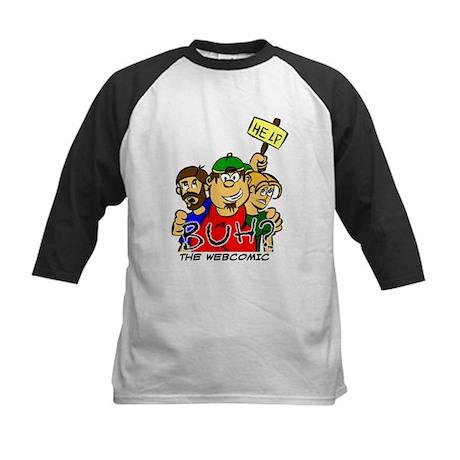 Buh? The Webcomic Kids Baseball Jersey