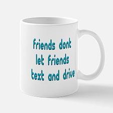 Text Friends Mug