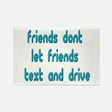 Text Friends Rectangle Magnet (100 pack)