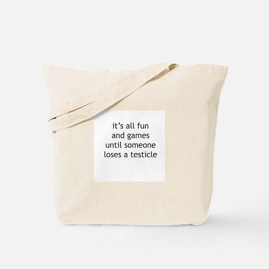 Penis Tote Bag