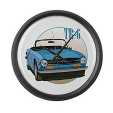 The Avenue Art TR6 Large Wall Clock
