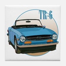 Grandpa car Tile Coaster