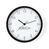 Zurich Wall Clocks