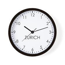ZURICH Modern Newsroom Wall Clock