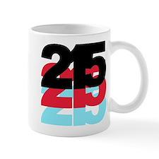 215 Area Code Mug
