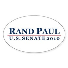 Rand Paul 2010 Oval Decal