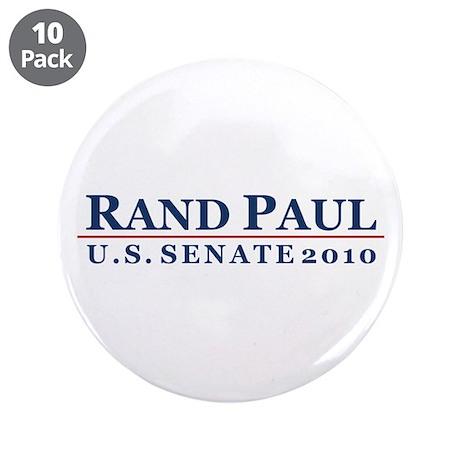 "Rand Paul 2010 3.5"" Button (10 pack)"