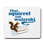 That Squirrel Can Waterski Mousepad