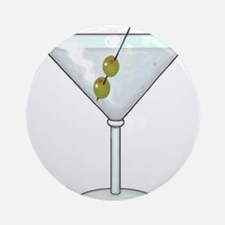 Martini Ornament (Round)