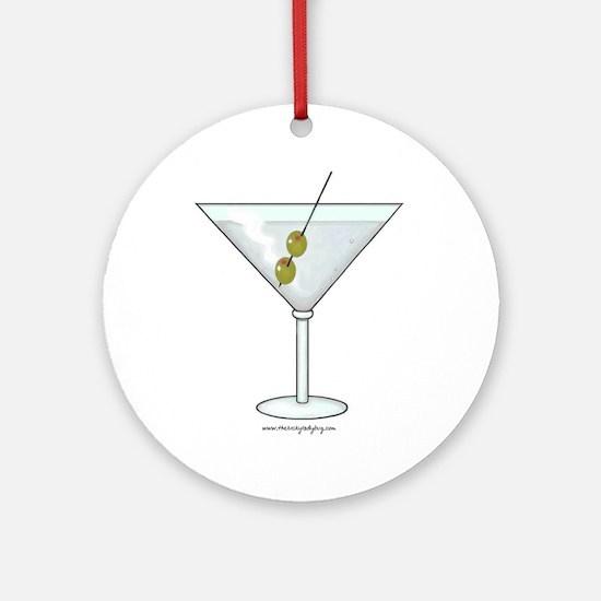 Martini Ornament (Round)