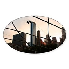 Chicago Oval Decal