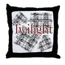 Twilight - Plaid Throw Pillow