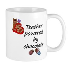 powered by chocolate copy Mugs