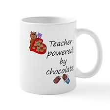 powered by chocolate copy Mugs