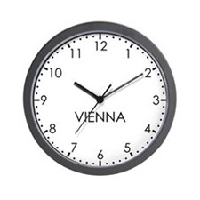 VIENNA Modern Newsroom Wall Clock