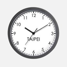 TAIPEI Modern Newsroom Wall Clock