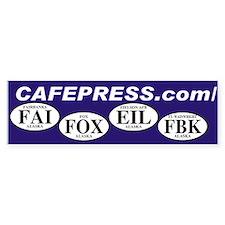 Cafepress Bumper Bumper Sticker