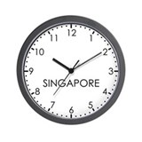 Singapore newsroom wall clock Wall Clocks