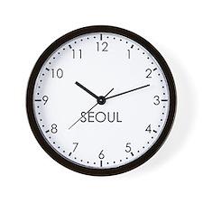 SEOUL Modern Newsroom Wall Clock