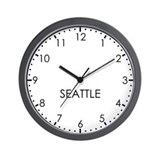 Seattle time zone Basic Clocks