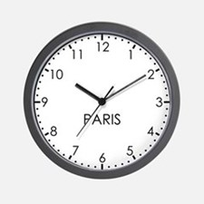 PARIS Modern Newsroom Wall Clock