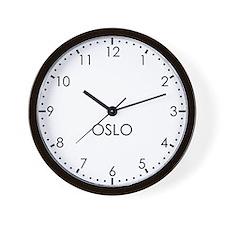 OSLO Modern Newsroom Wall Clock