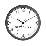 New york wall clock Basic Clocks
