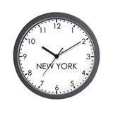 New york Basic Clocks
