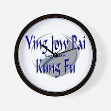 Ying Jow Pai Kung Fu Wall Clock