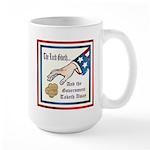 Bottom Line Large Mug