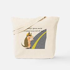Armadillo Speed Bump Tote Bag