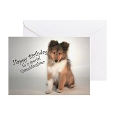 Cute Collies Greeting Card