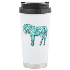 HeartHorse - Aqua Travel Mug