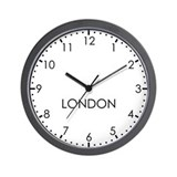 London wall clock Basic Clocks