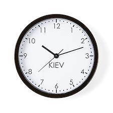 KIEV Modern Newsroom Wall Clock