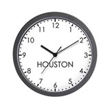 Time zone houston Wall Clocks