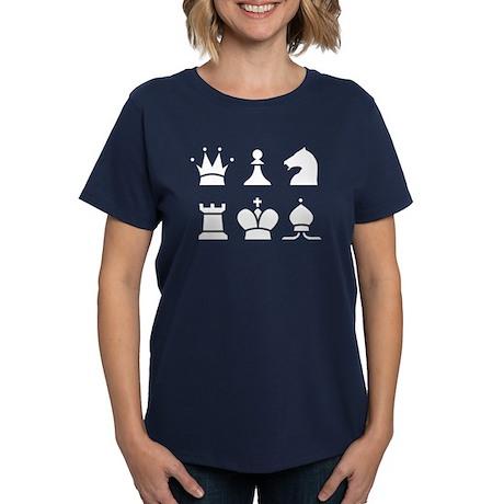 Chess Women's Dark T-Shirt