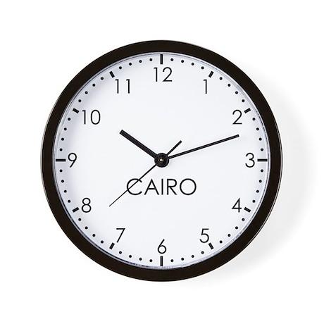 CAIRO Modern Newsroom Wall Clock