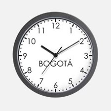 BOGOTA Modern Newsroom Wall Clock