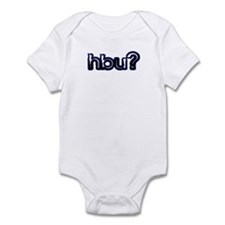 'Plain' How About You? Infant Bodysuit