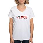 I am The Mob Women's V-Neck T-Shirt