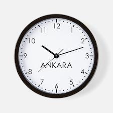 ANKARA Modern Newsroom Wall Clock