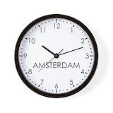 Amsterdam clock Wall Clocks