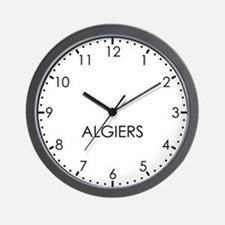 ALGIERS Modern Newsroom Wall Clock